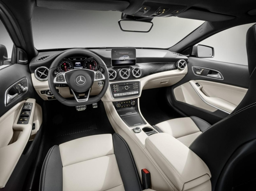 메르세데스-벤츠 프리미엄 콤팩트 SUV '더 뉴 GLA'의 내부