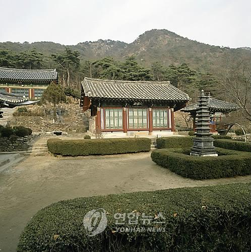 아산 세심사 [연합뉴스 자료사진]