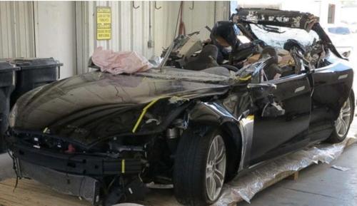 테슬라 사고차량
