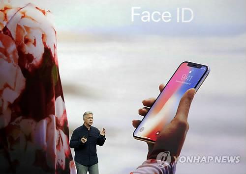 아이폰X의 페이스 ID