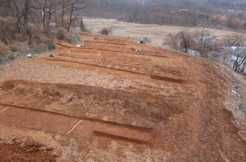 신석기시대 주거지 발굴 조사 지역