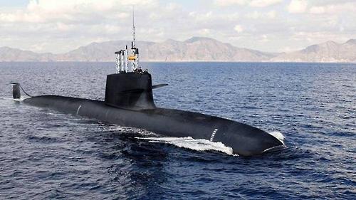 인도 해군의 첫 국산 핵 잠수함 '아리한트'[위키미디어 제공]