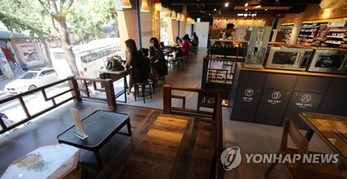 편의점 내부[연합뉴스 자료사진]