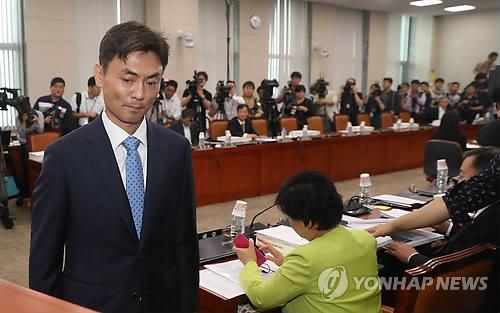 박성진 중소벤처기업부 장관 후보자[연합뉴스 자료사진]