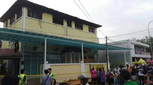 화재 참사 벌어진 말레이 이슬람 기숙학교