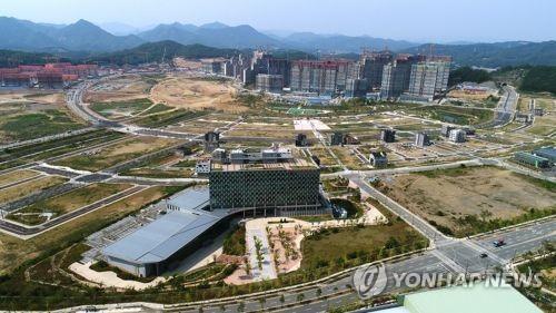 원주기업도시 전경[연합뉴스 자료사진]