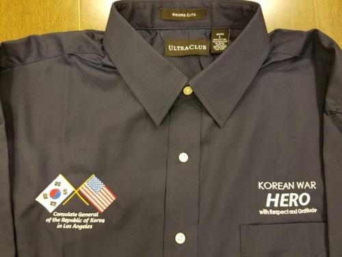 한국전쟁 참전용사 셔츠