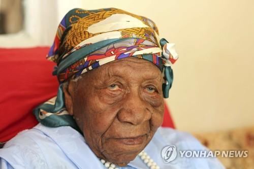 117세를 일기로 숨진 세계 최고령 할머니 바이올렛 브라운