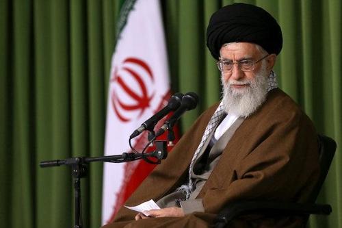 아야톨라 알리 하메네이 이란 최고지도자[최고지도자실]