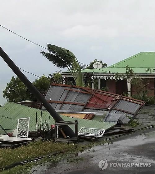 프랑스령 과달루페 섬 허리케인 마리아 피해