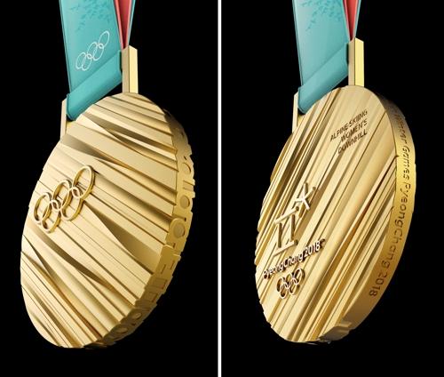 [사진톡톡] 평창 올림픽 메달을 자세히 살펴봅니다!