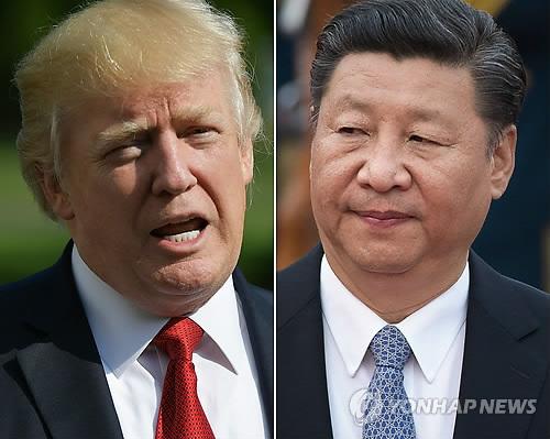 """트럼프-시진핑 통화…""""북한에 대한 최대압박 약속"""""""