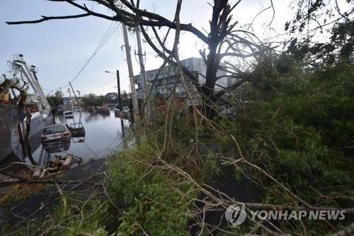 허리케인 마리아 강타 카리브해 사망자 30명으로 늘어(종합)