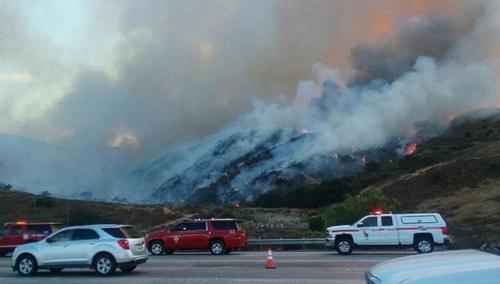 LA 인근 산불
