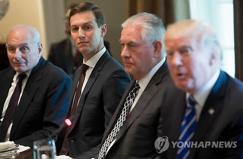30일 방중 예정인 틸러슨 미 국무장관.[AFP=연합뉴스 자료사진]