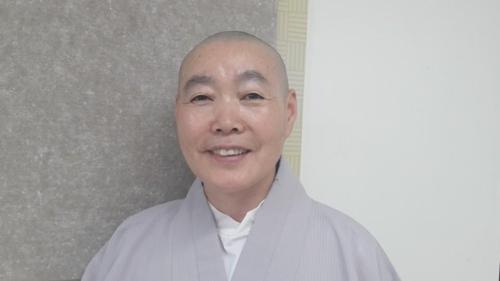 종로노인종합복지관 관장 정관 스님