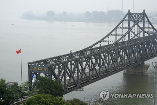 북중 교역의 상징 압록강철교[연합뉴스 자료사진]