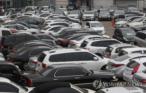 중고차 매매단지 [연합뉴스 자료사진]