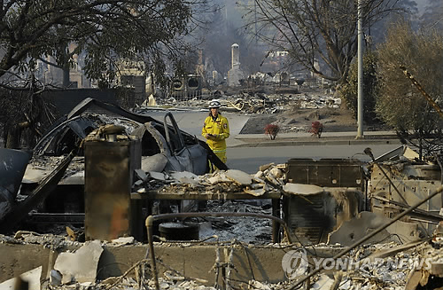 美 '나파' 산불…캘리포니아 사상 최악 기록 전망