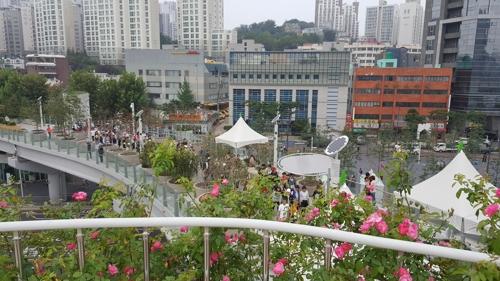 가을 맞은 서울로 7017서 걷기·피아노 축제 '풍성'