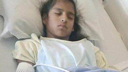 응급수술 받은 불체자 신분의 10살 소녀