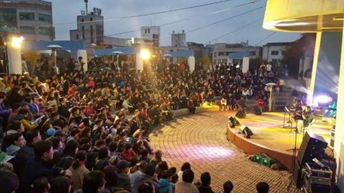 2016년 빛 축제 점등식