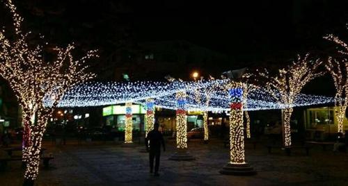 2016년 빛 축제 거리조명