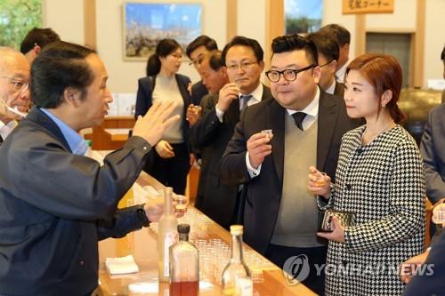 임지선 대표 해외 시장 개척[연합뉴스 자료사진]
