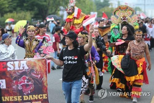 2017 맘프 다문화 퍼레이드
