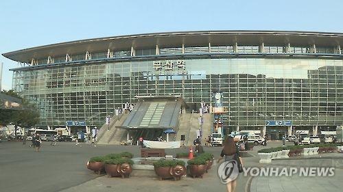 부산역[연합뉴스TV 캡처]