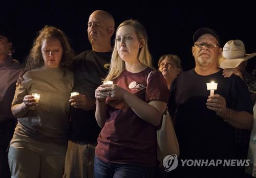 텍사스 총격 희생자 추모