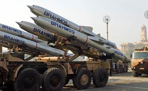 인도의 '브라모스' 순항미사일[위키미디어 제공]