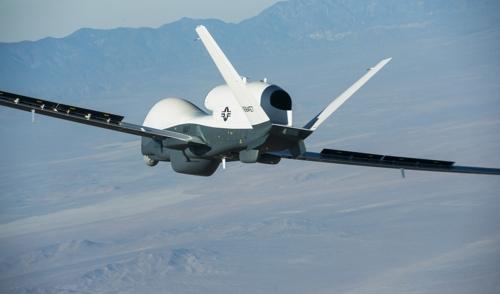 미국의 고고도 해상감시용 드론 MQ-4C[위키미디어 제공]