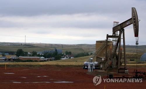 미국 노스다코타 주에 있는 오일채굴장치(자료사진)