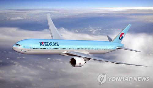 대한항공 B777-300ER 여객기 [대한항공 제공=연합뉴스]