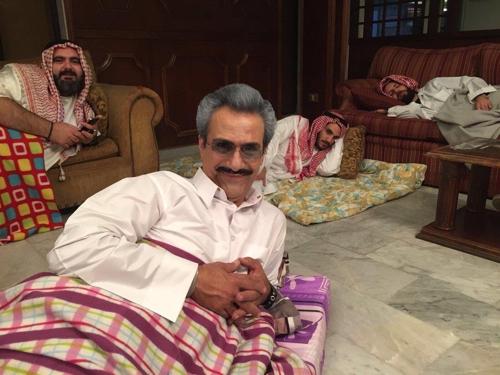 빈탈랄 왕자를 닮은 레바논 배우가 찍은 사진[트위터]