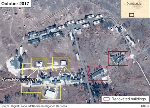 "BBC ""시리아에 이란 상주 군사기지 건설 정황"""
