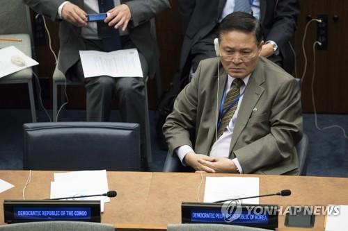 자성남 유엔주재 북한 대사 [AP=연합뉴스]