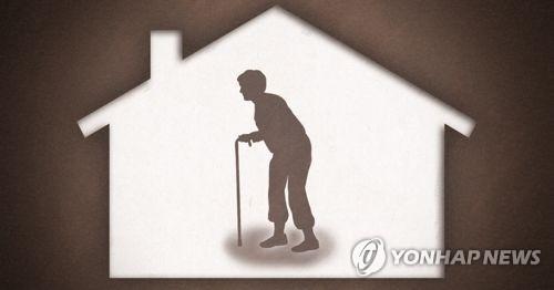노인 가구 증가 [연합뉴스 PG]