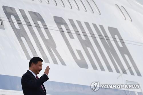 APEC 정상회의 참석차 베트남 방문한 시진핑 주석.[AFP=연합뉴스 자료사진]