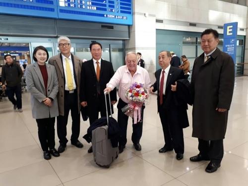 아얀 세계역도연맹 회장 방한