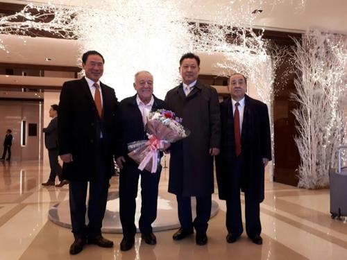 타마스 아얀 세계역도연맹 회장 방한
