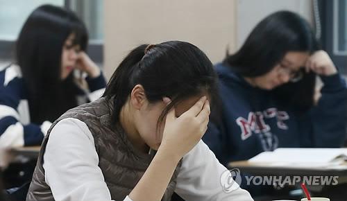 수능[연합뉴스 자료사진]