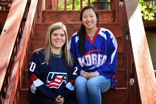 평창 가는 길…언니는 한국, 동생은 미국 대표