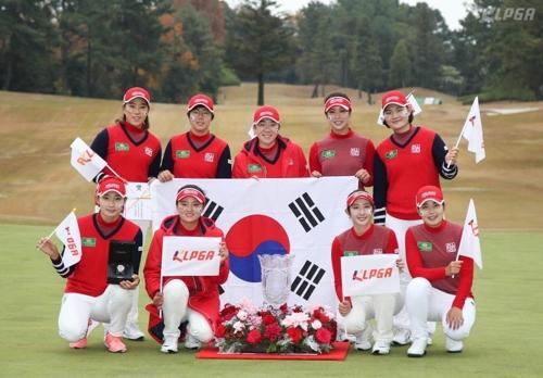 [권훈의 골프산책]해외파 의존 탈출 여자골프, 또 일본 꺾나