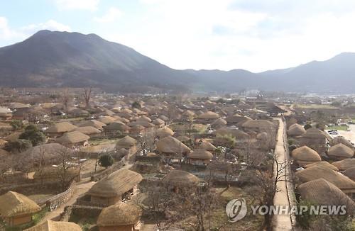 낙안읍성 성곽길 [연합뉴스 자료사진]