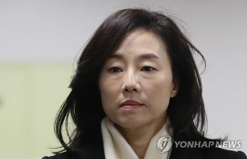 조윤선 전 정무수석 [연합뉴스 자료사진]