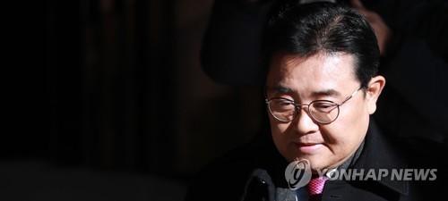 검찰 출석하는 전병헌 전 수석 [연합뉴스 자료사진]