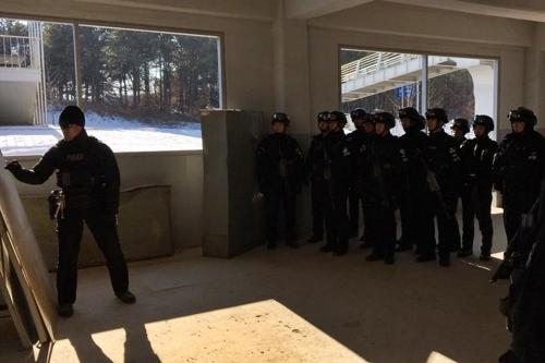 경찰특공대 합동훈련