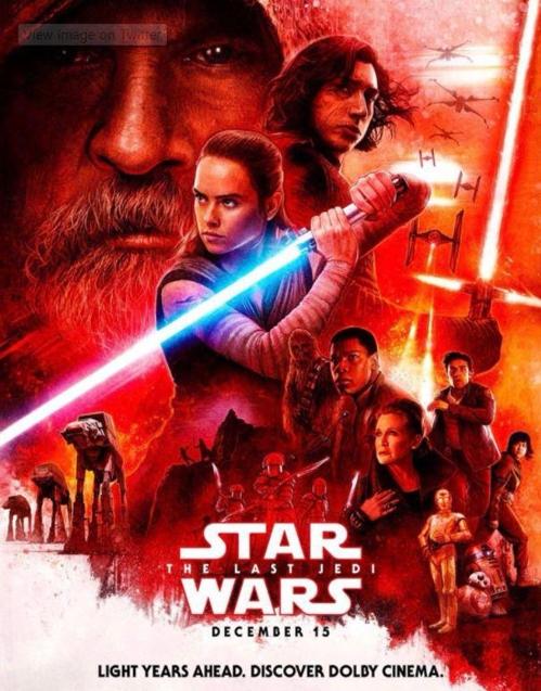 '스타워즈: 라스트 제다이' 포스터